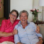 Strahlende Gesichter: Frau Paschedag (l.) und, Frau Böyng.